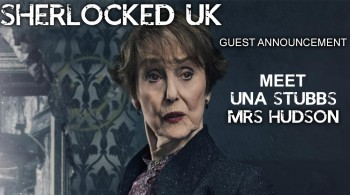 Our first guest is Mrs Hudson!